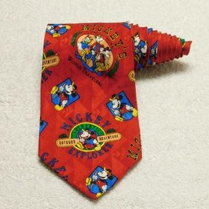 Mickey Inc Disney Mickey Mouse World Explorer Tie